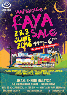 Shriro Warehouse Raya Sales