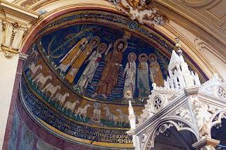 Passeio em Roma com foco nos mosaicos Medievais: Basílica de Santa Cecilia