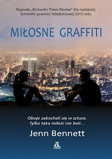 Jenn Bennett - Miłosne graffiti