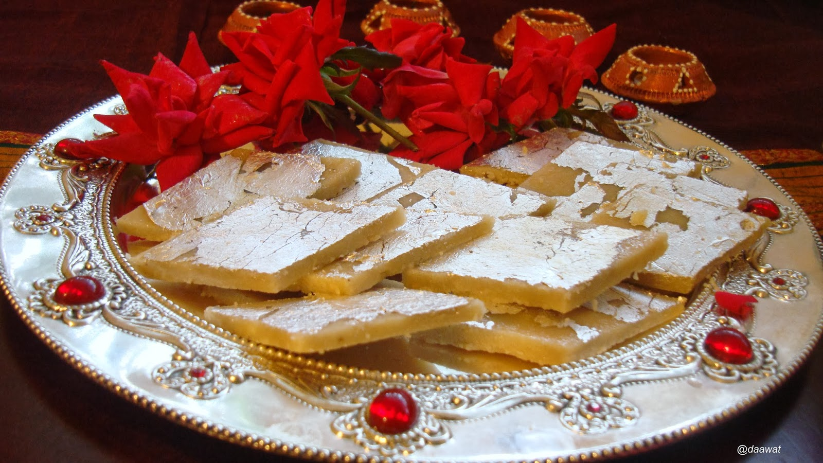 Aapka Daawat : Kaju ki Barfi / Indian Diwali Sweet Recipe