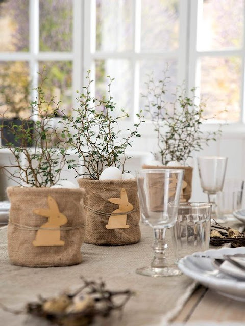 mesas decoradas de pascoa