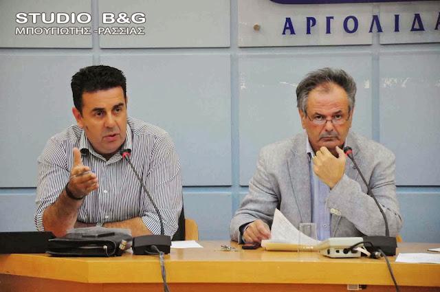 Δημοτικό Συμβούλιο στο Ναύπλιο στις 11 Ιανουαρίου