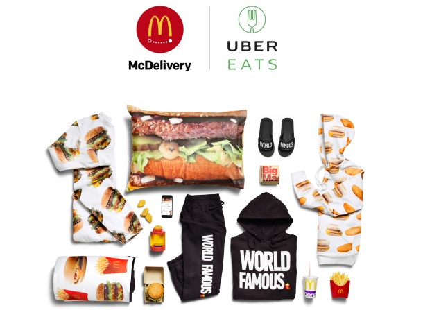 McDonalds McDelivery merchandise