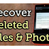 How to recovery deleted files and images and more your Android phone phone   TAMIL TECHNICAL TIPS