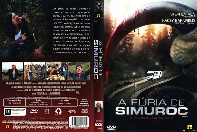 Capa DVD A Fúria de Simuroc