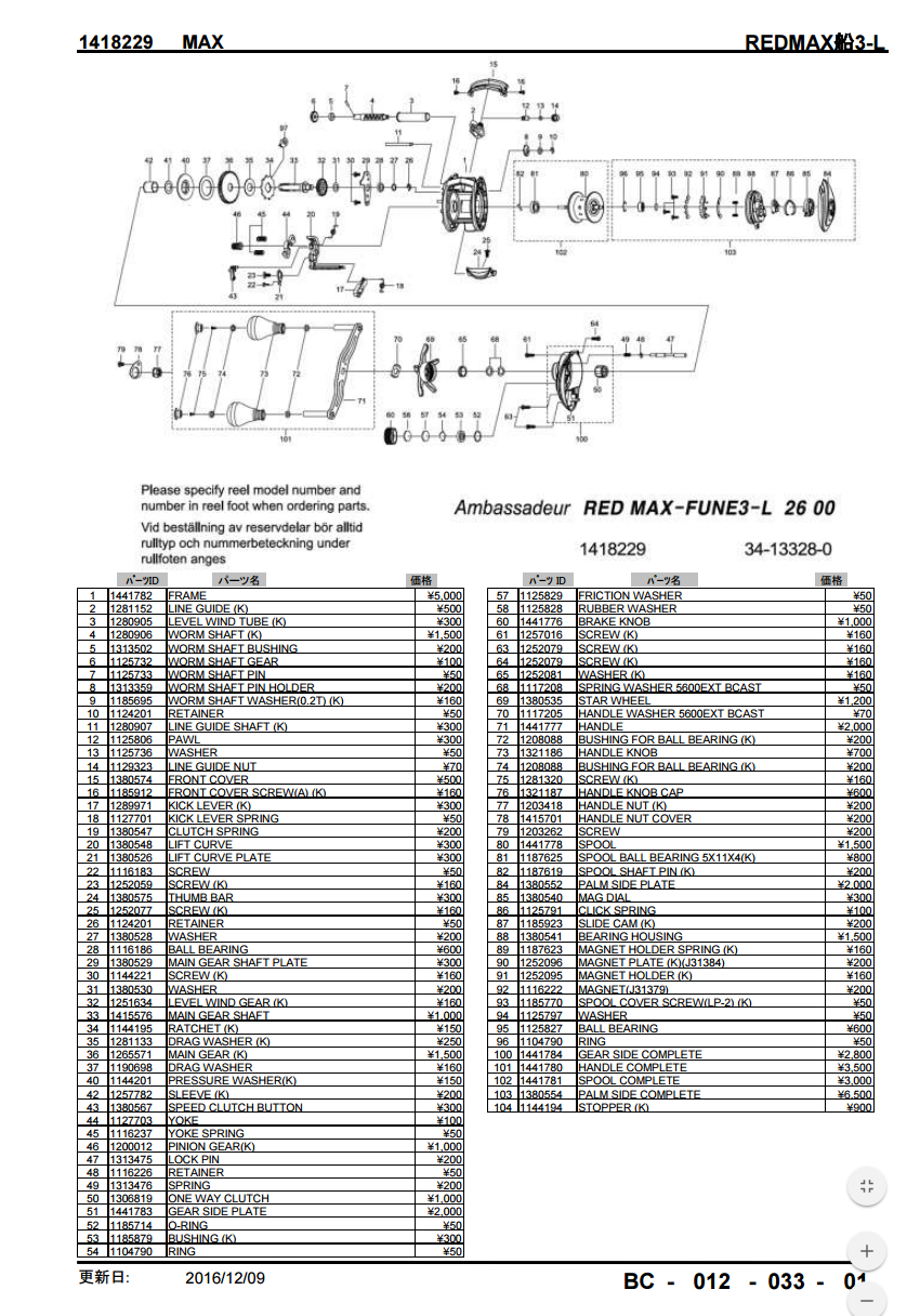 Abu Garcia Schematic Diagrams - Wiring Diagram Page on