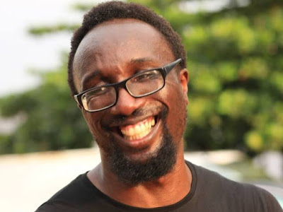 Nigerian Writer Dike Chukwumerije escapes being hit by a stray bullet (Photos)