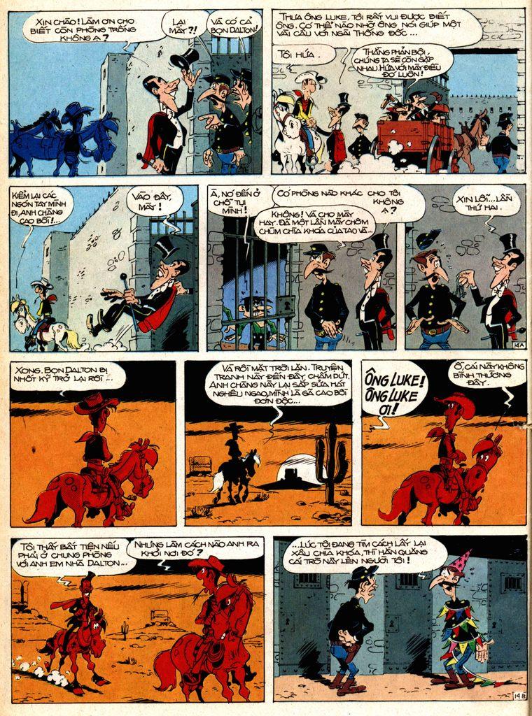 Lucky Luke tap 1 - ban tay nham trang 13