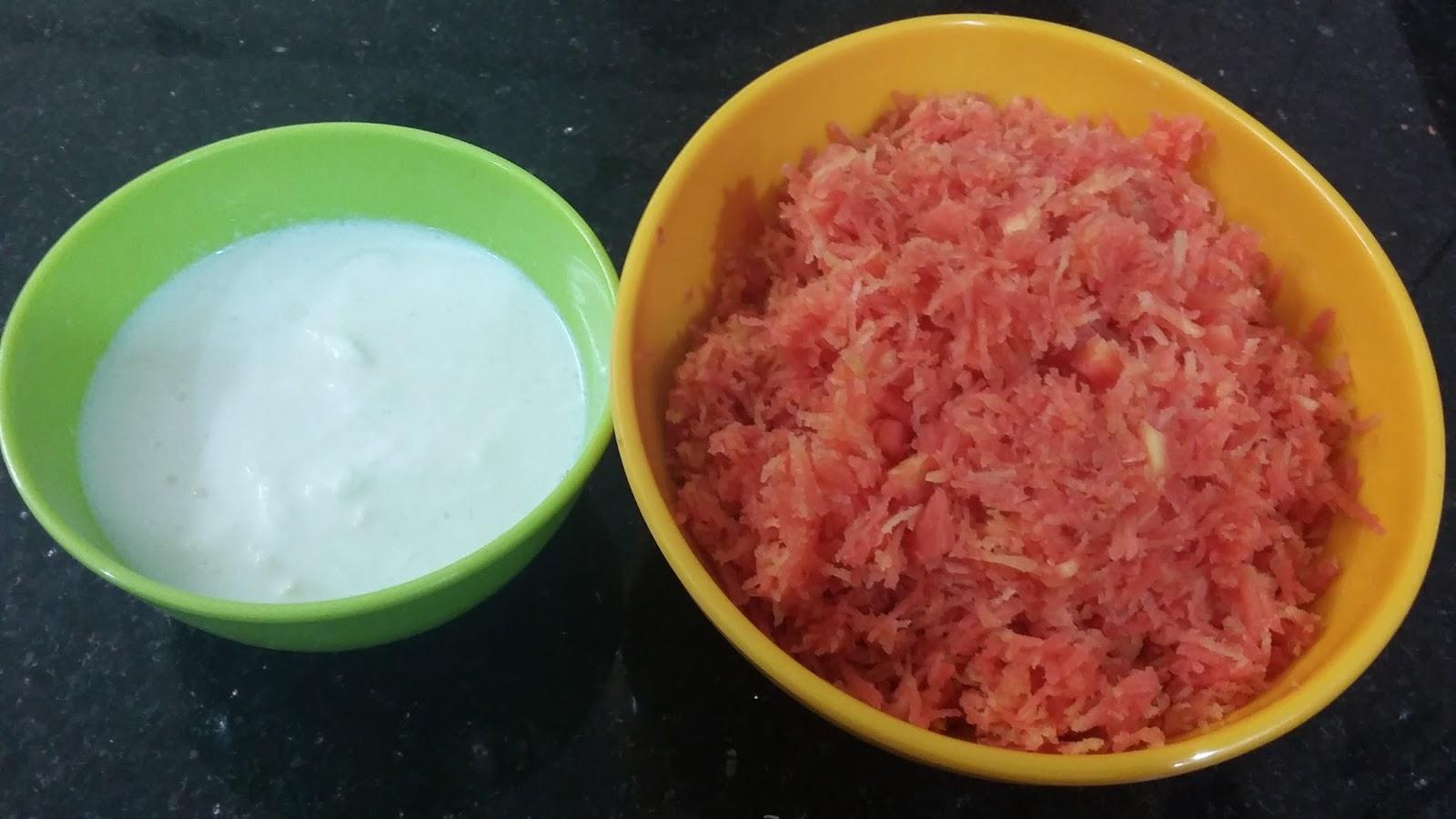 carrot halwa with condensed milk, how to make gajar ka halwa