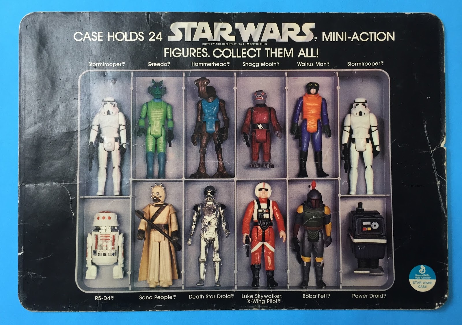 Kenner Star Wars Toys : G i jigsaw kenner star wars carrying case inserts