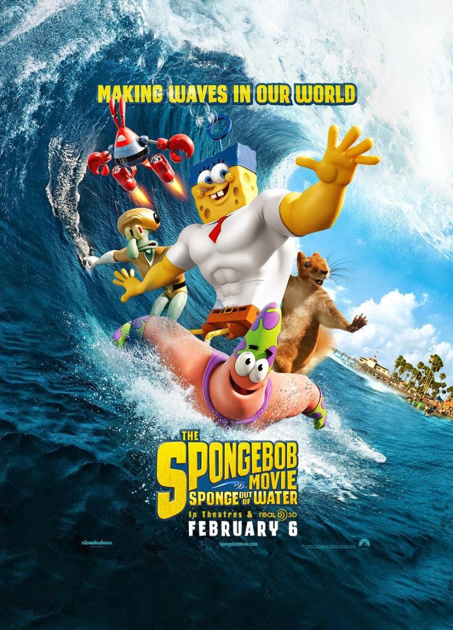 Spongebob Squarepants: The Movie Character Posters |Spongebob Movie Poster
