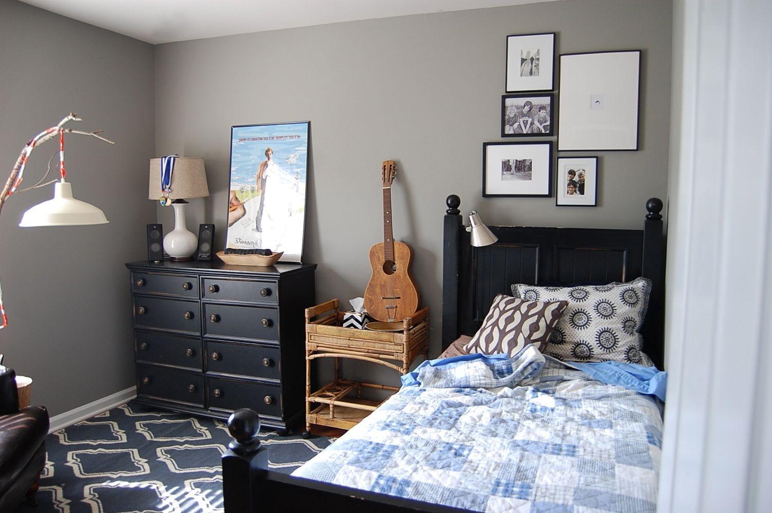 desain kamar tidur cowok sederhana | desain rumah