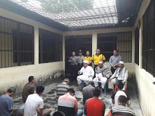 14 Tahanan Polres Lambar Diberi Tausiah