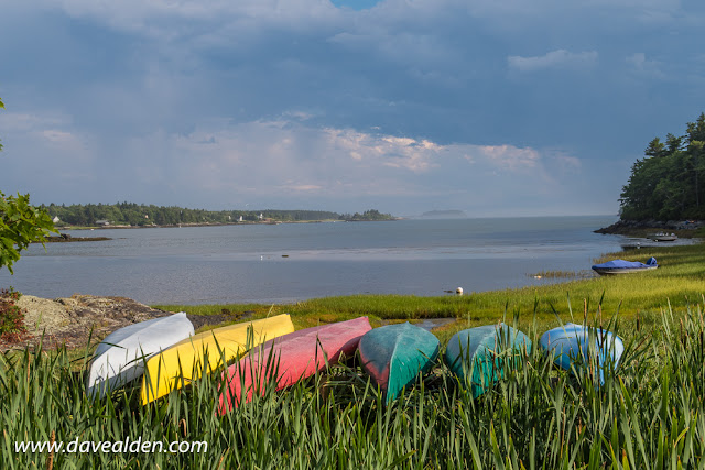 Travel Trailer Camping in Georgetown Maine