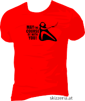 May the couse Disc Golf Shirt
