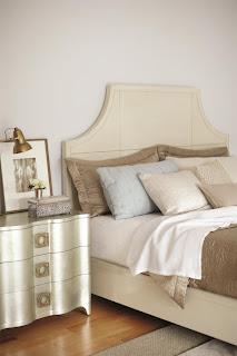 Bernhardt salon silver nightstand