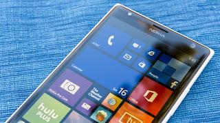 Frisített updated Lumia okostelefon