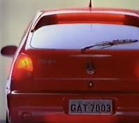 Propaganda da Volkswagen apresentando a segunda geração do Gol, no final dos anos 90.