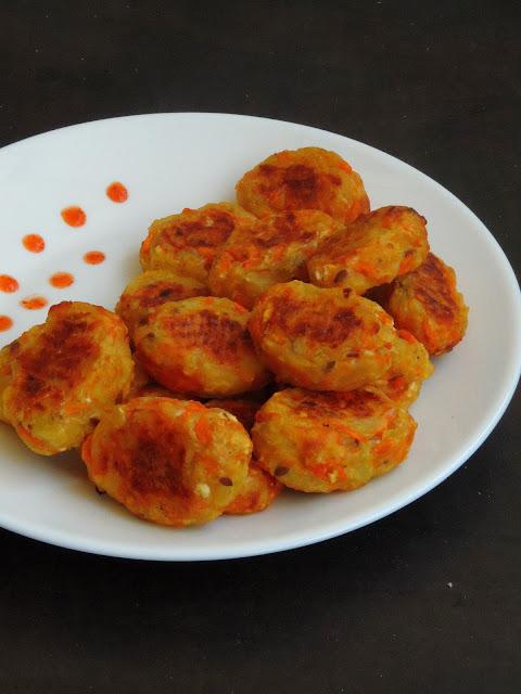 Potato Carrot  Tots