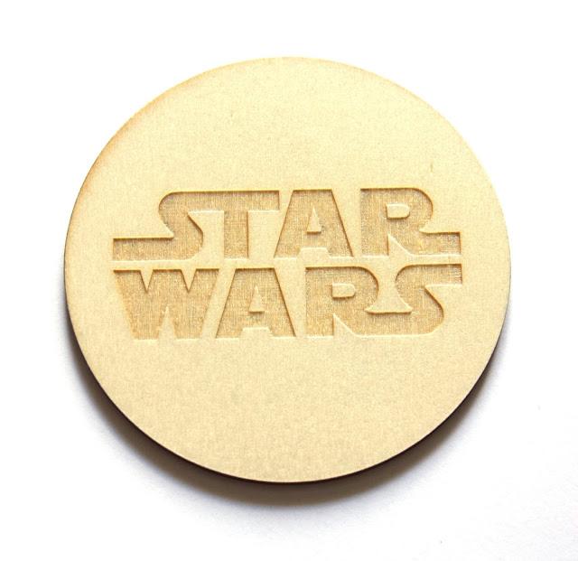 Podstawka gwiezdne wojny do whisky