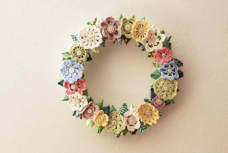 Vintage Inspired Wreath - Jill Ruth & Co.