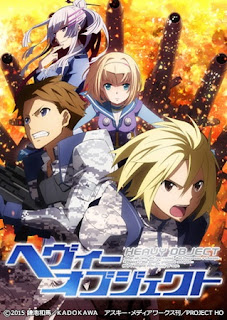 Download Heavy Object BD Subtitle Indonesia Batch Episode 1 – 24