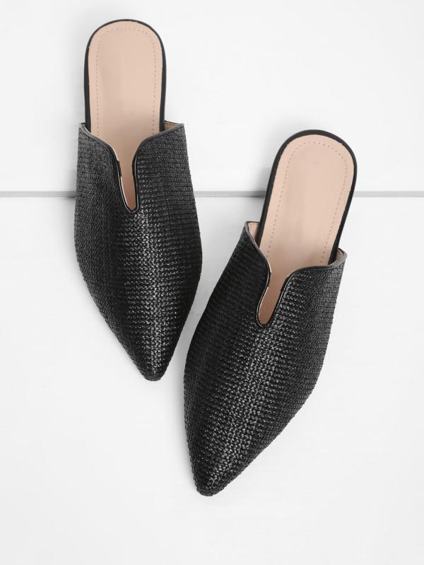 rafia shoes