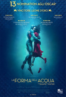 La forma dell'acqua (The Shape of Water) - Locandina, cinema