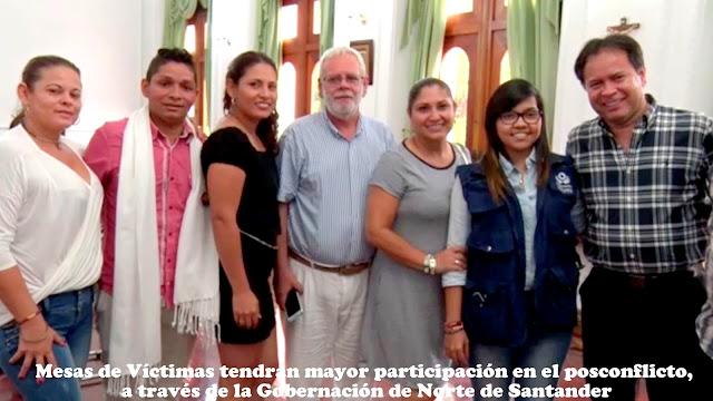 Gob. William Villamizar Laguado, se reúne con representantes de la Mesa Departamental de Víctimas #RSY #OngCF