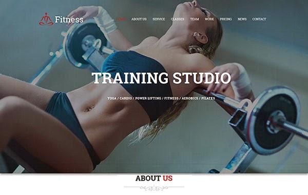 Fitness – Sport Center Gym Club Responsive HTML Template
