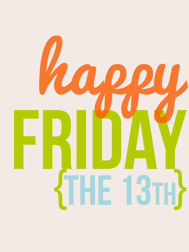 #project life #friday the 13th #downloads #free #iloveitall #scrapbooking