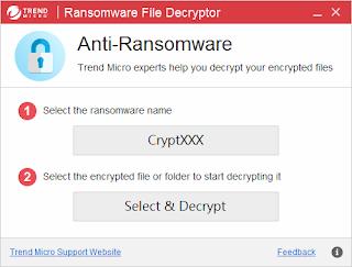 勒索軟體檔案解密工具
