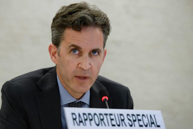 Experto de la ONU denuncia violación de libertad de expresión en Venezuela