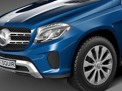 2016 Mercedes GLS 400 4MATIC front image