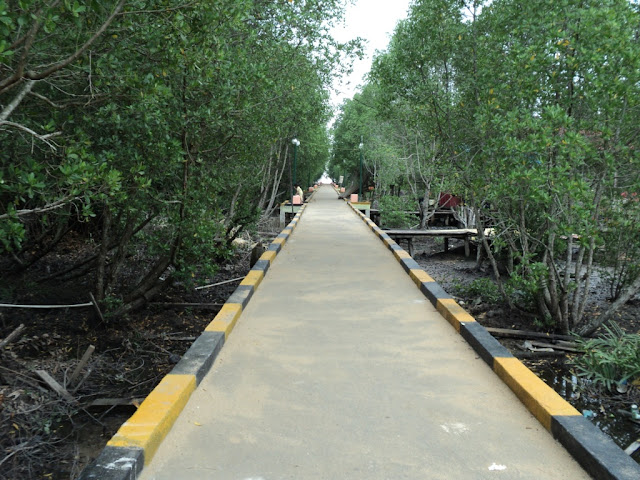 Akses menuju Pantai Solop