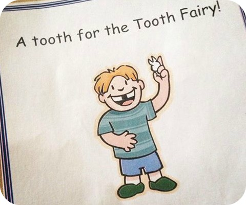 tooth fairy packet