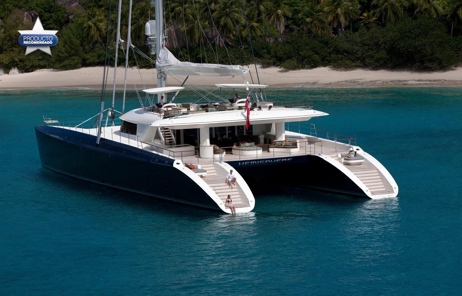 Alquialr catamaranes de lujo