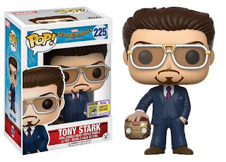 Pop! Marvel: Spider-Man Homecoming – Tony Stark (holding helmet).