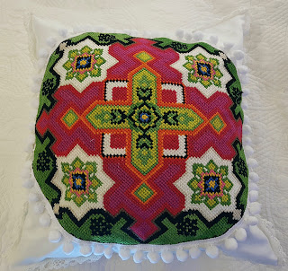 Heidididit - tee se itse -tyynyideoita, Sohvatyyny. ohje.