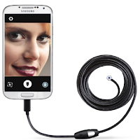 un endoscope qui se branche sur un Smartphone