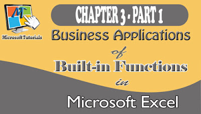 Practical and business applications of ms-excel's functions