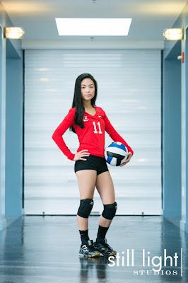 still light studios best sports school senior portrait photography bay area volleyball