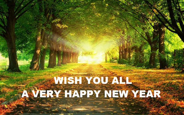New Year Wishes With Nature Images