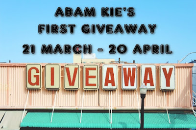 Abam Kie's First Giveaway