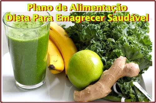 Plano de Alimentação Dieta Para Emagrecer Saudável