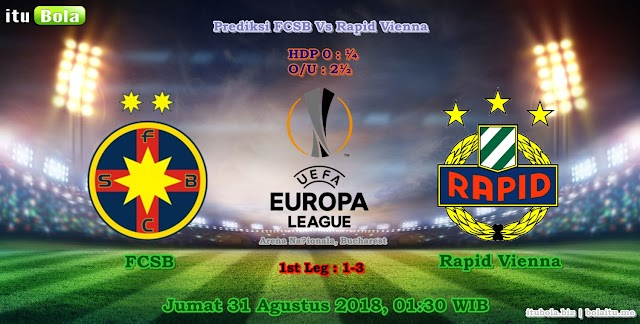Prediksi FCSB Vs Rapid Vienna - ituBola