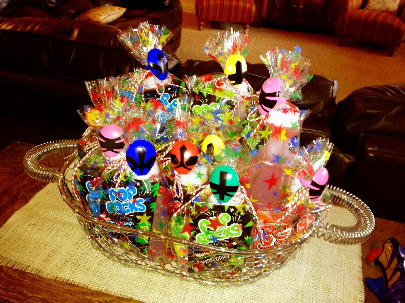 Birthday Birthday Party Ideas: Larcie Bird: Power Ranger Birthday Party