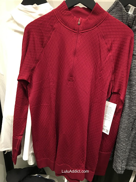 lululemon star-ruby rest-less-half-zip