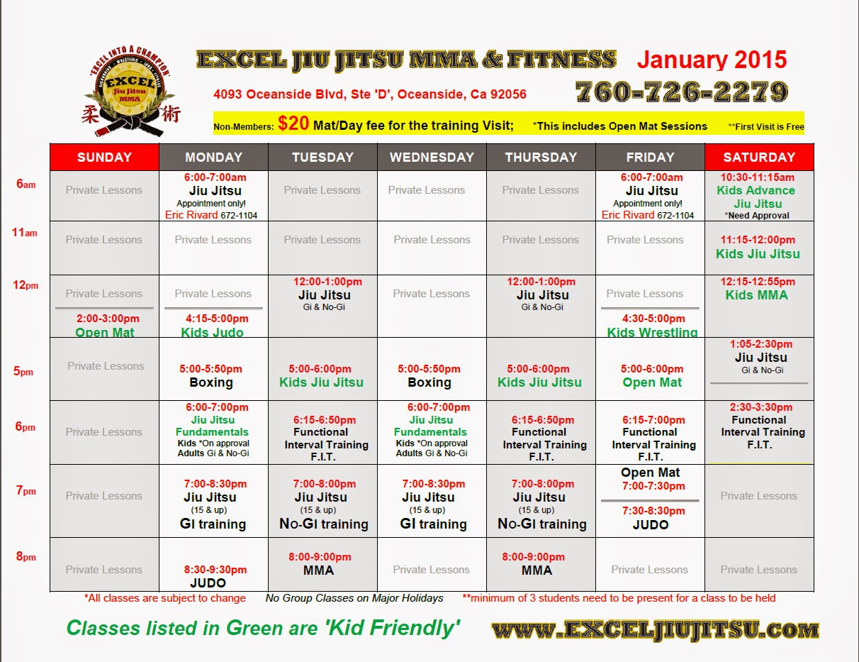 Excel Jiu Jitsu MMA & Fitness: Oceanside Martial Arts