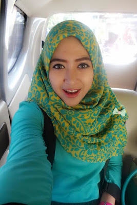 4 hijaber cantik 4 hijaber cantik dan modis yang rontokan iman pria sejagad